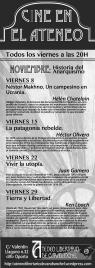Cartel proyecciones nov13